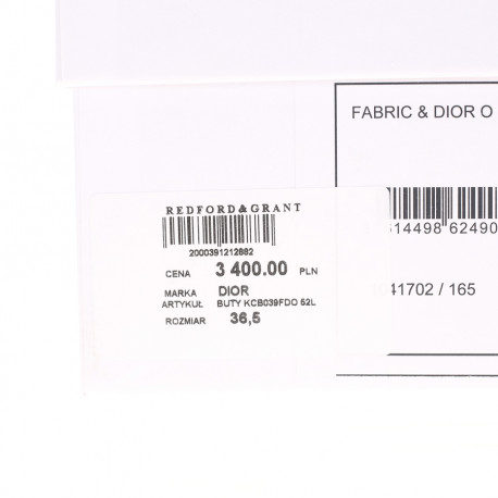 Dior Baleriny