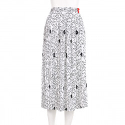 Elisabetta Franchi Spódnica biała z napisami