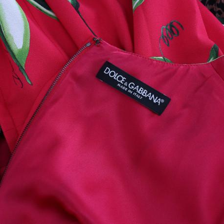 Dolce & Gabbana Sukienka w fasole