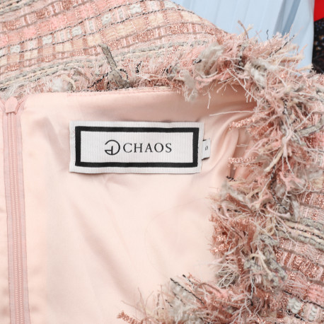 Chaos by Marta Boliglova Sukienka tweedowa