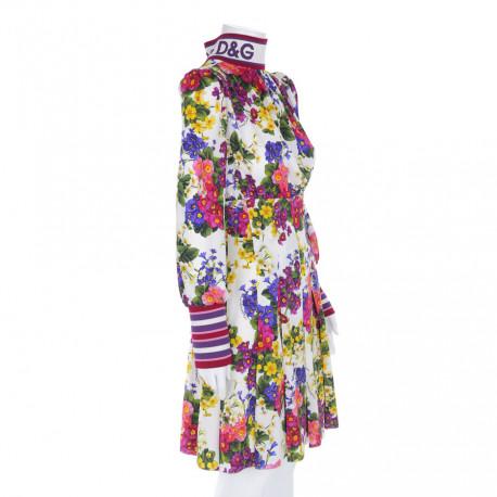 Dolce & Gabbana sukienka w kwiaty